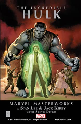 Incredible Hulk Masterworks Tome 1