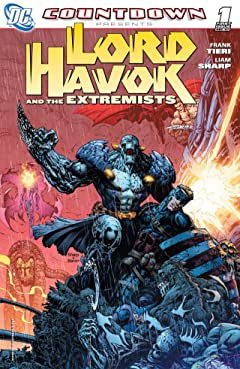 Countdown Presents: Lord Havok and the Extremists No.1 (sur 6)
