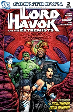 Countdown Presents: Lord Havok and the Extremists #2 (of 6)