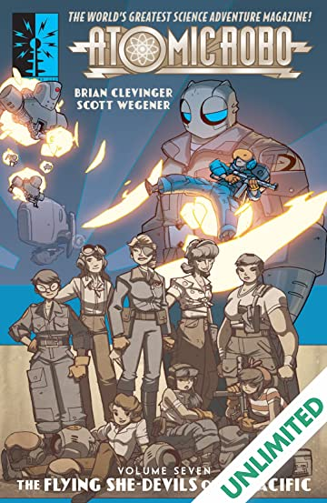Atomic Robo & The Flying She-Devils of The Pacific