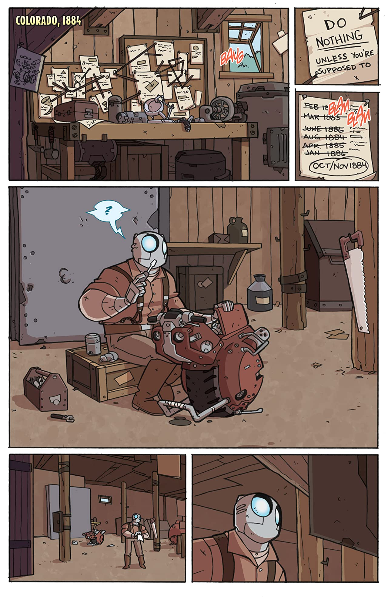 Atomic Robo & The Knights of The Golden Circle