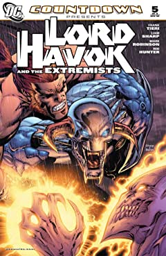 Countdown Presents: Lord Havok and the Extremists No.5 (sur 6)