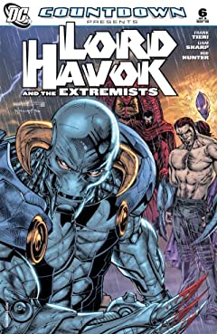Countdown Presents: Lord Havok and the Extremists No.6 (sur 6)