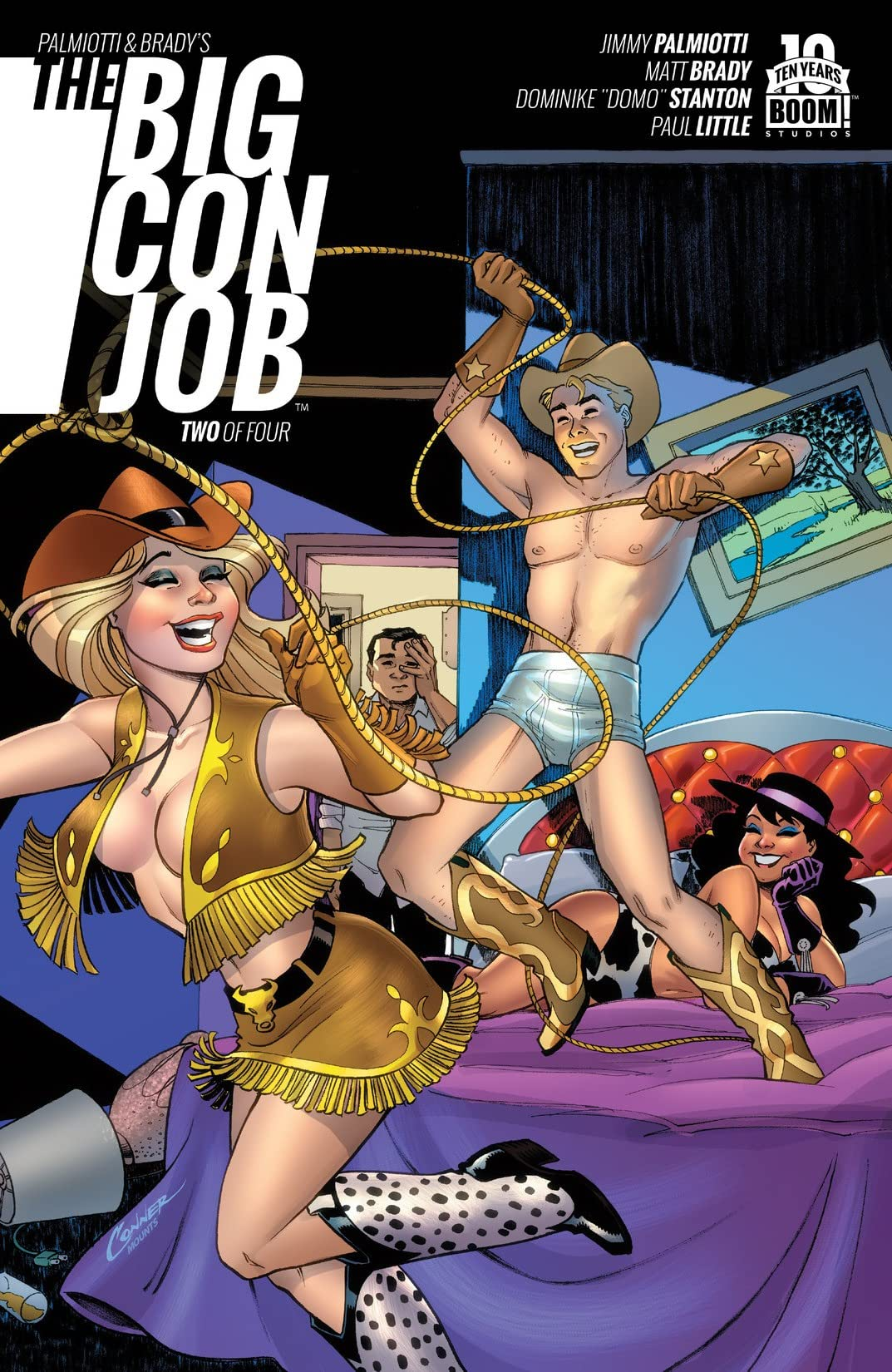Palmiotti and Brady's The Big Con Job #2 (of 4)