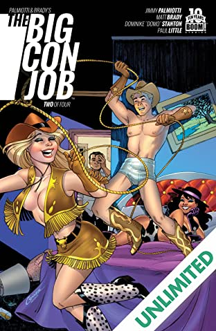 Palmiotti and Brady's The Big Con Job #2 (of 4)
