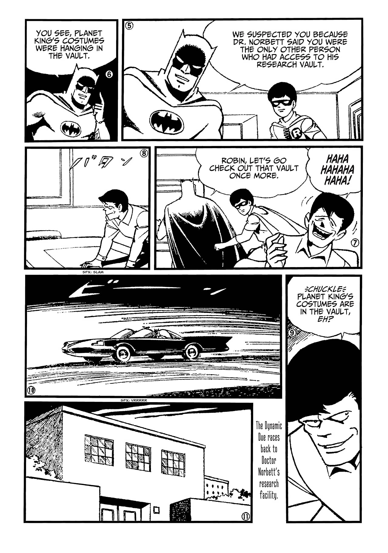 Batman: The Jiro Kuwata Batmanga #43