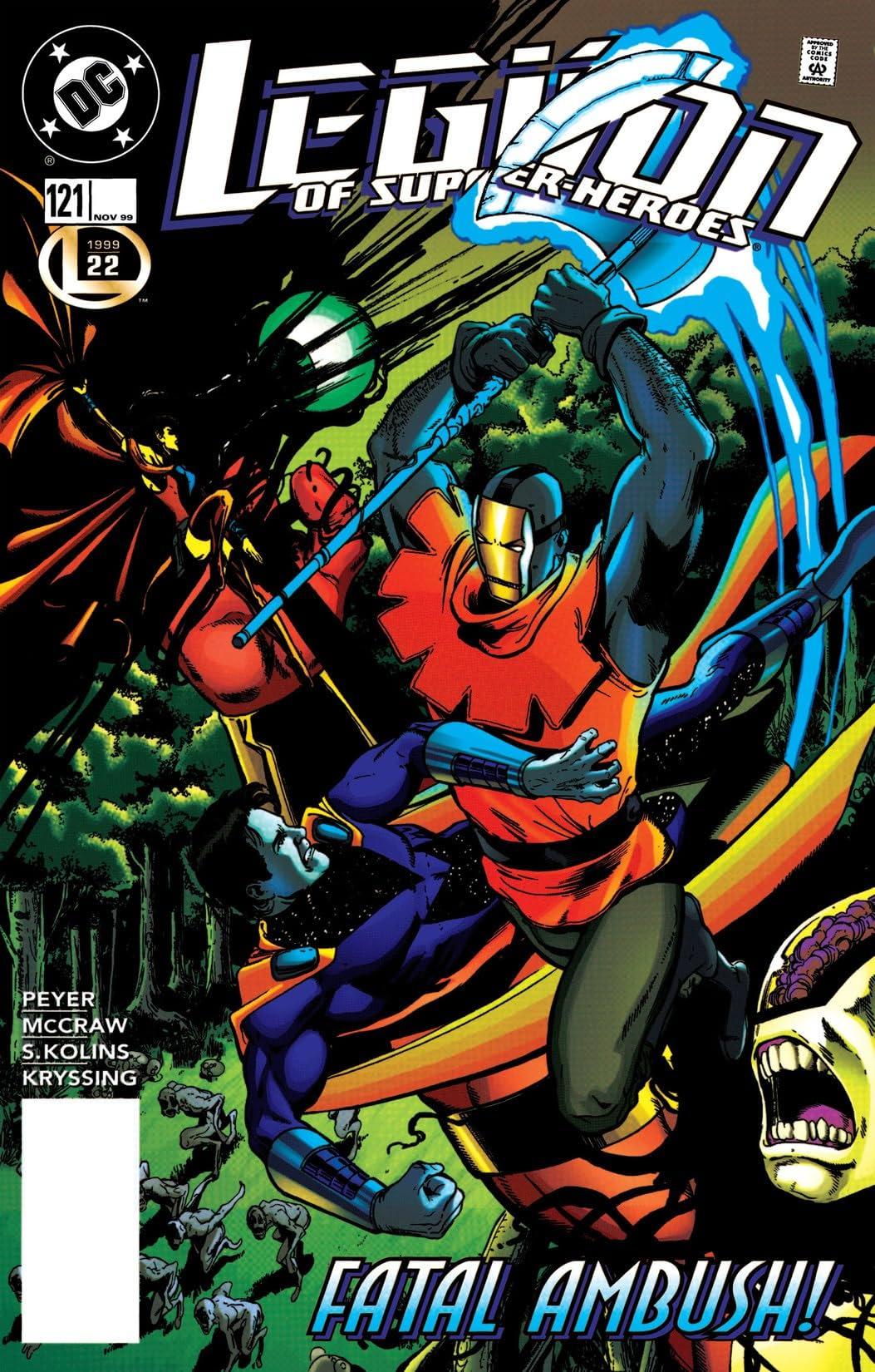 Legion of Super-Heroes (1989-2000) #121