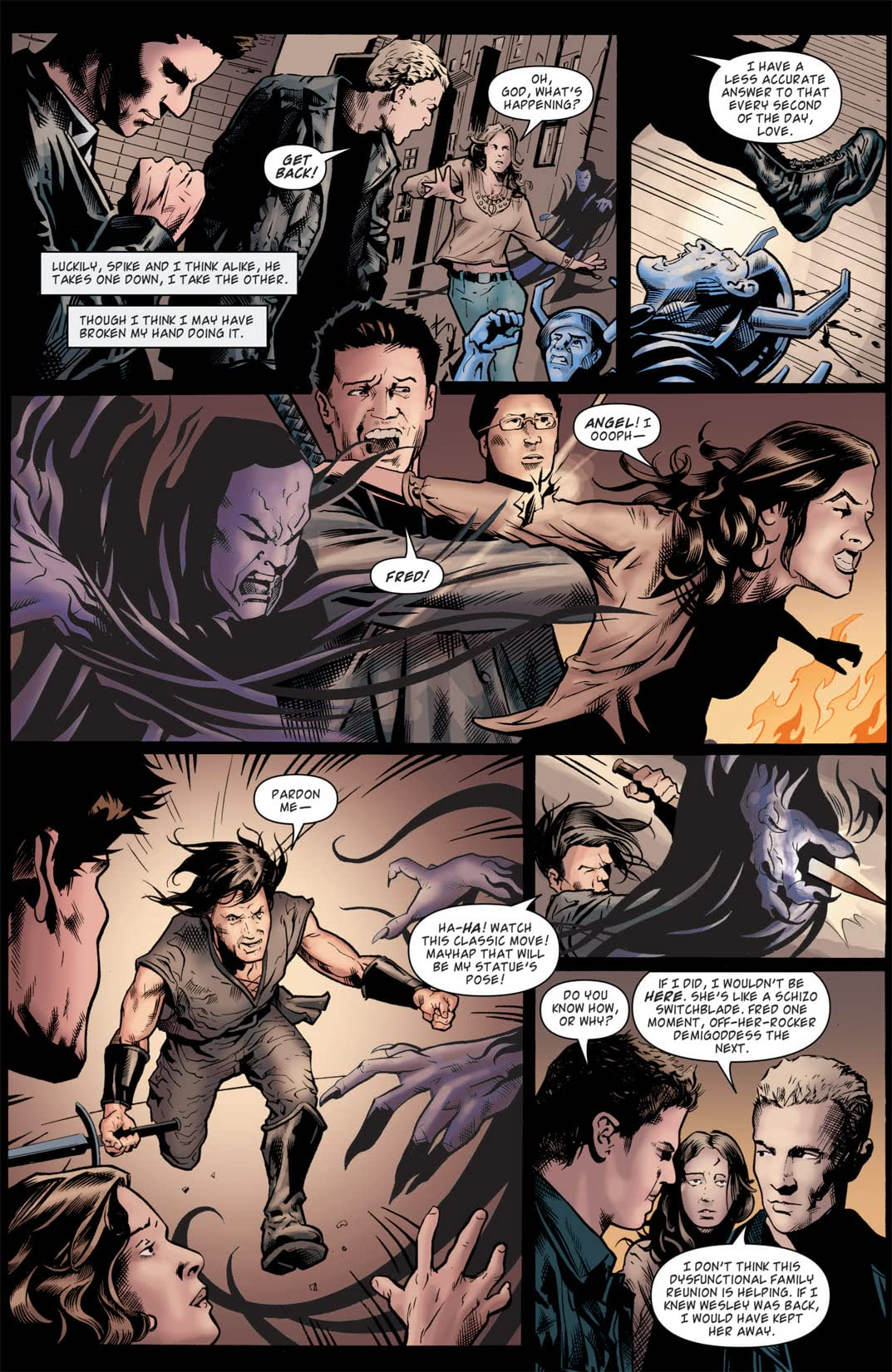 Angel: After the Fall #9