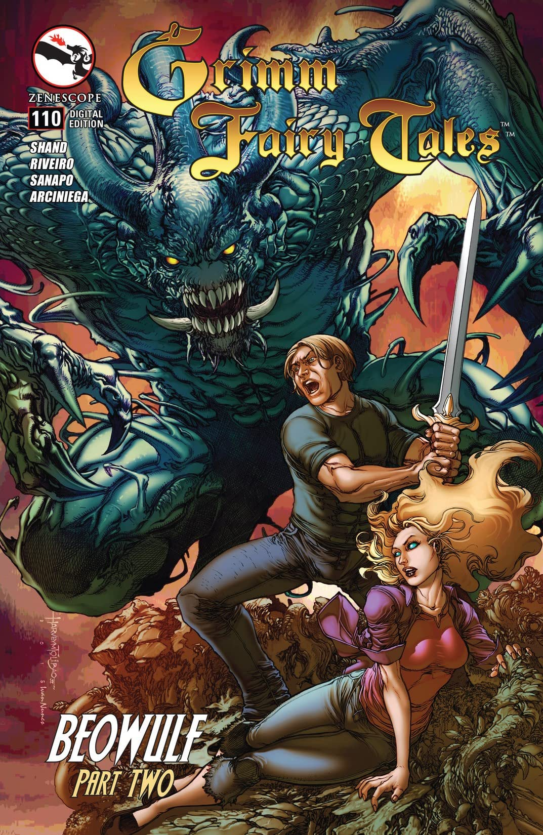 Grimm Fairy Tales #110