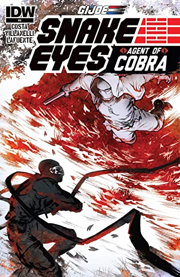 G.I. Joe: Snake Eyes, Agent of Cobra #4 (of 5)