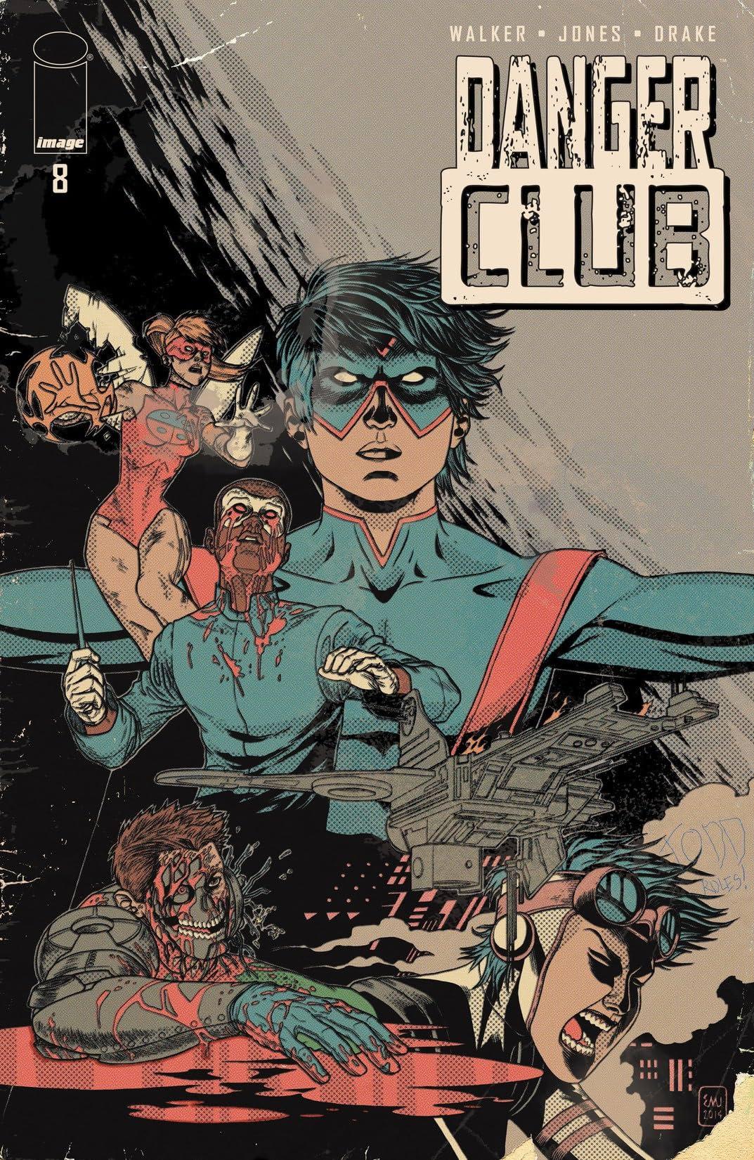Danger Club #8: Alternate Ending Edition