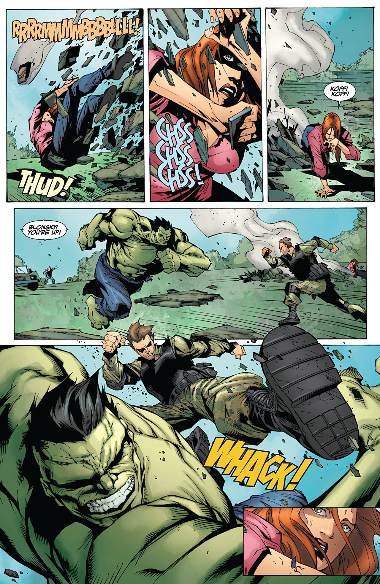 Marvel's The Avengers Prelude: Fury's Big Week No.5 (sur 8)