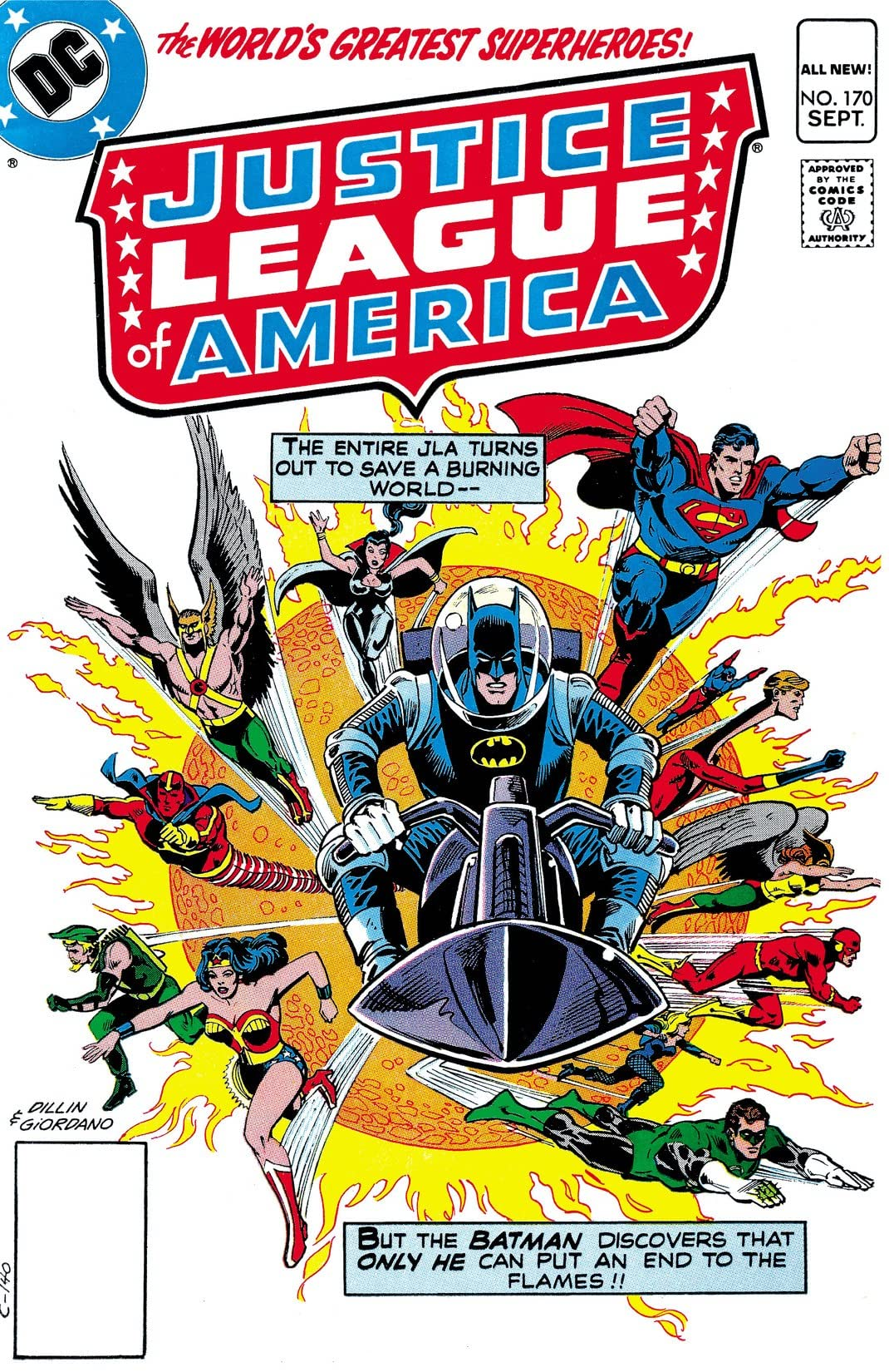 Justice League of America (1960-1987) #170