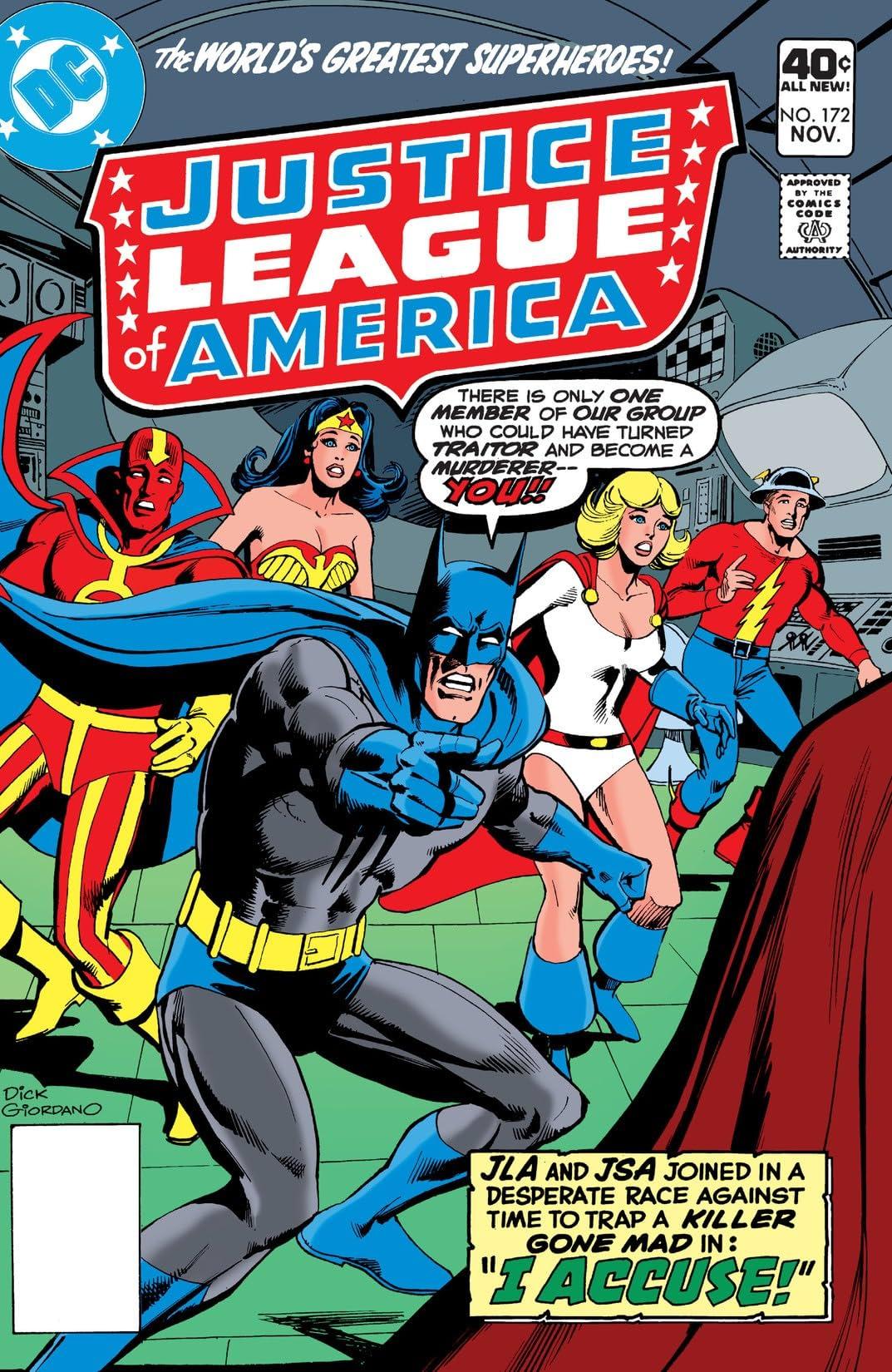 Justice League of America (1960-1987) #172