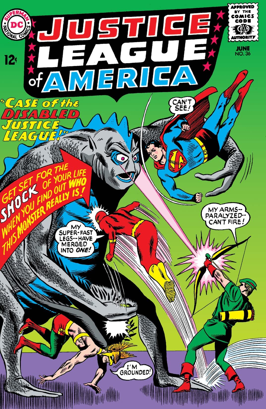 Justice League of America (1960-1987) #36
