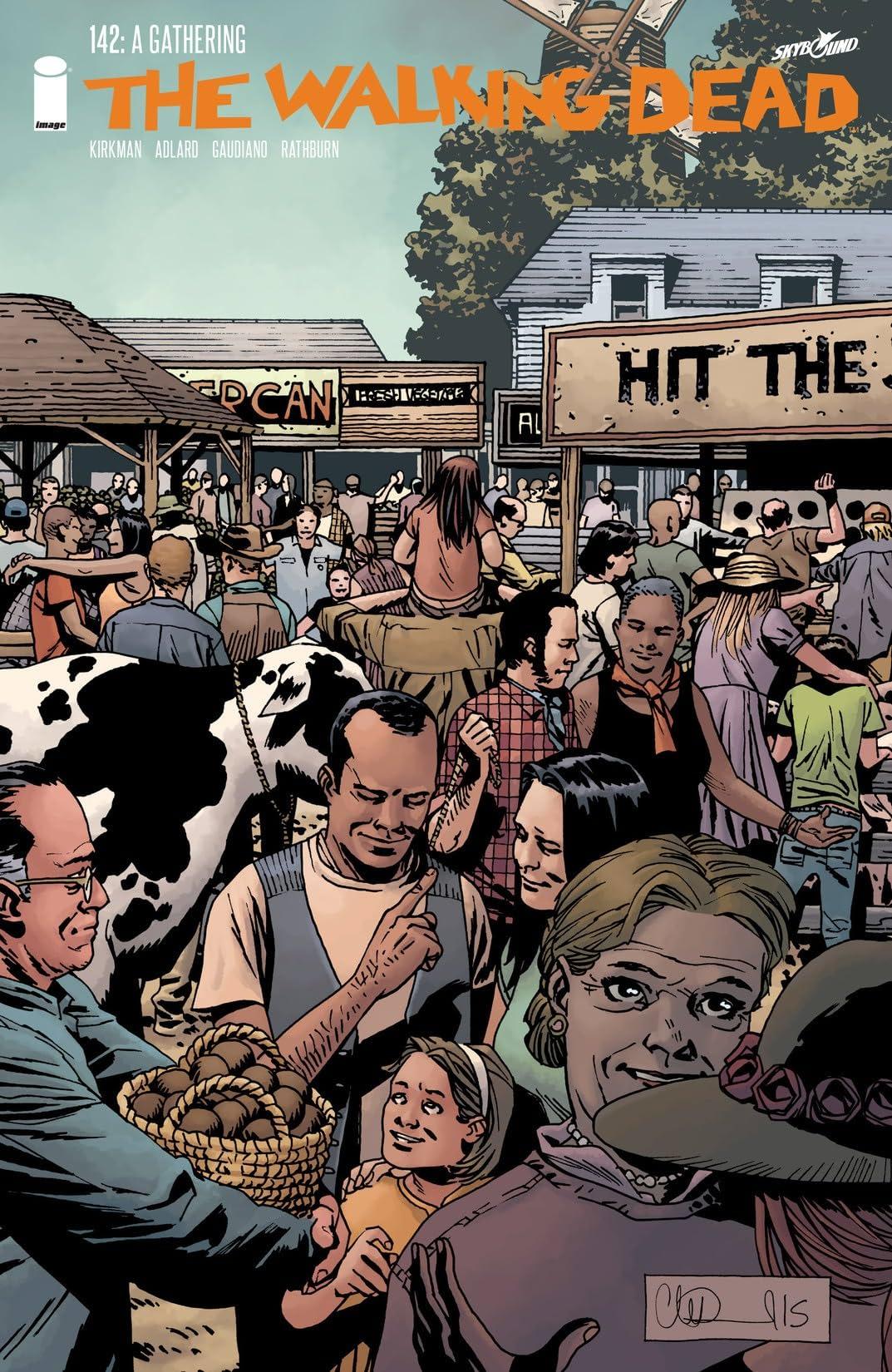 The Walking Dead #142