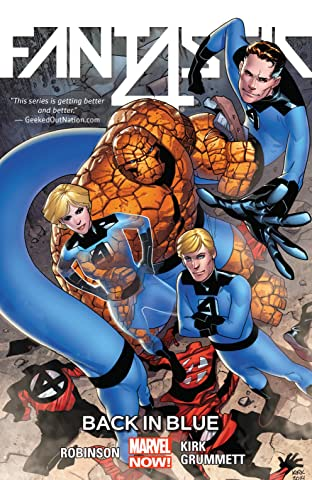 Fantastic Four Vol. 3: Back In Blue