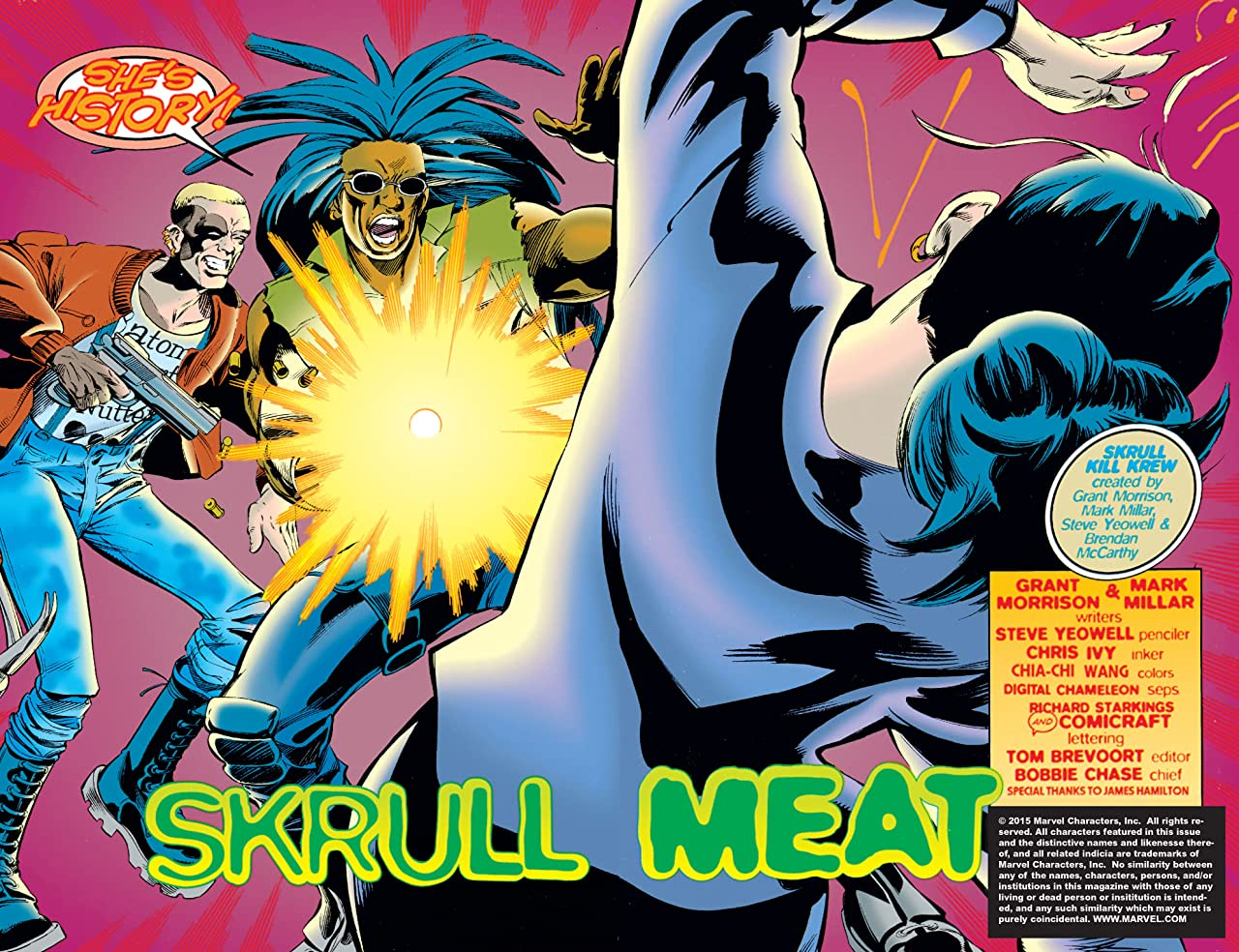Skrulls Must Die! - The Complete Skrull Kill Krew