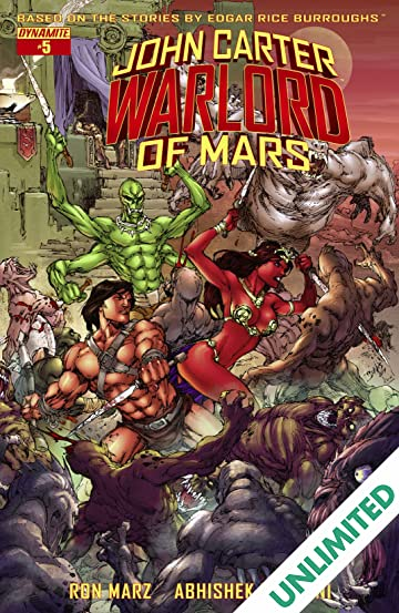 John Carter: Warlord of Mars #5: Digital Exclusive Edition