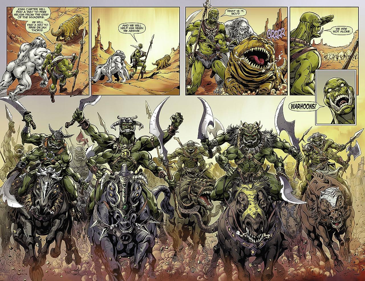 John Carter: Warlord of Mars #5: Digital Exclusive Edition