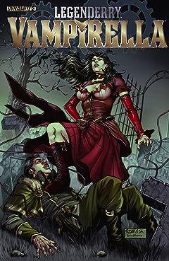Legenderry: Vampirella #3 (of 6): Digital Exclusive Edition