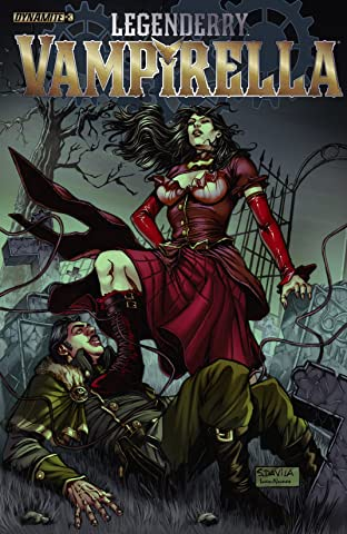 Legenderry: Vampirella #3 (of 6): Digital Exclusive Edition