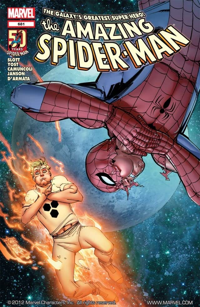 Amazing Spider-Man (1999-2013) #681