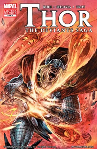 Thor: Deviants Saga #5 (of 5)