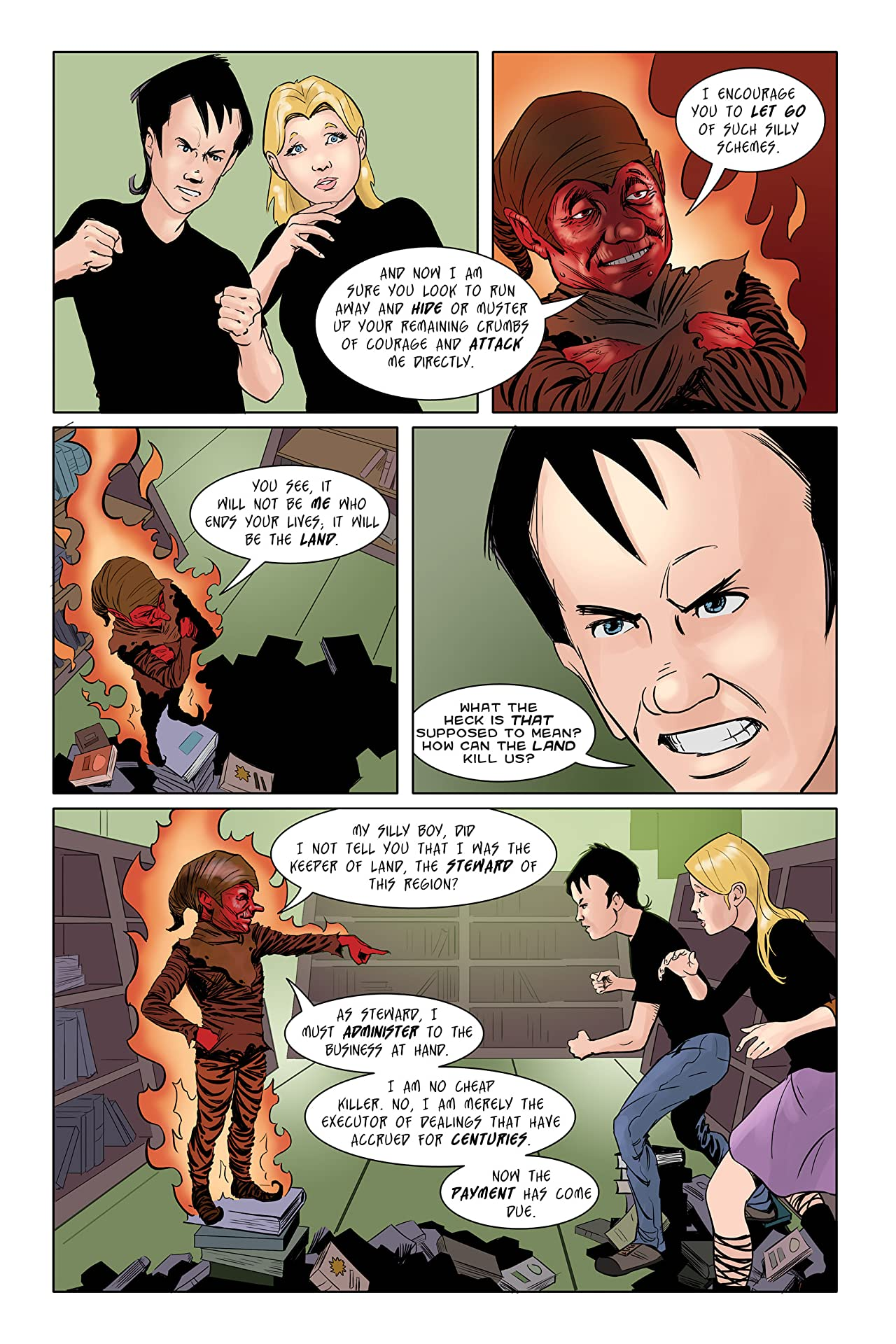 Nain Rouge: The Red Legend #3
