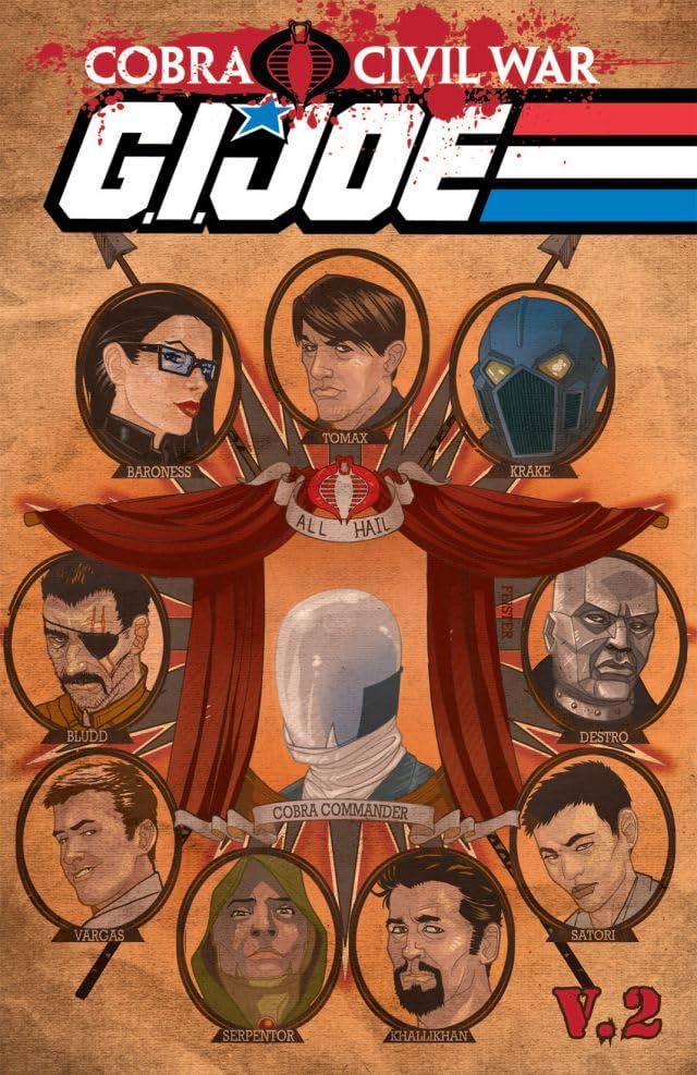 G.I Joe: Cobra Civil War - G.I Joe Vol. 2