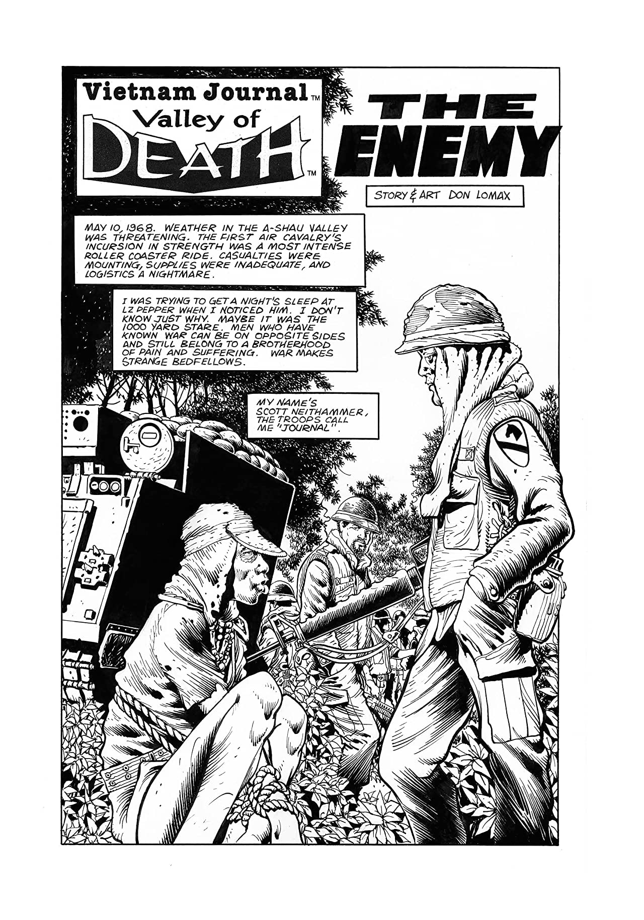 Vietnam Journal: Valley of Death #3