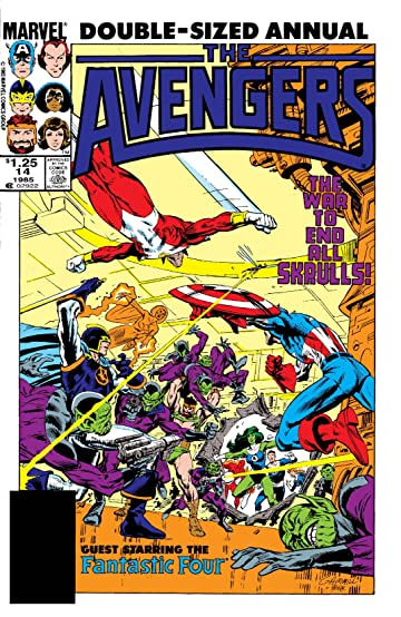 Avengers (1963-1996) Annual #14