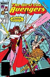 Avengers West Coast (1985-1994) #43