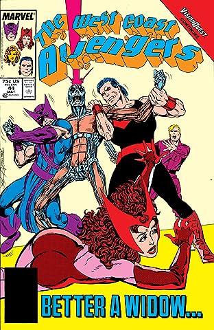 Avengers West Coast (1985-1994) #44