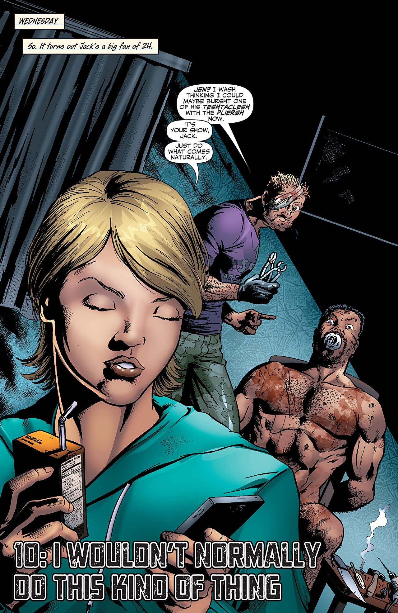 Garth Ennis' Jennifer Blood #10