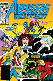 Avengers West Coast (1985-1994) #49