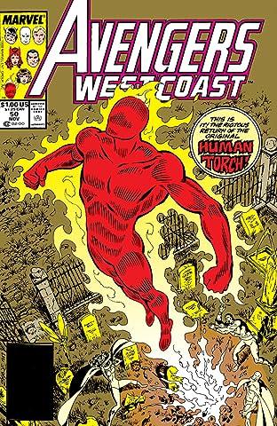 Avengers West Coast (1985-1994) #50
