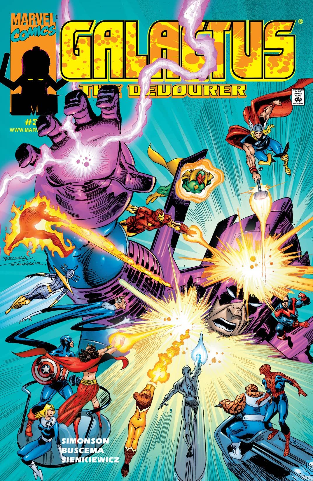 Galactus The Devourer (1999) #3 (of 6)