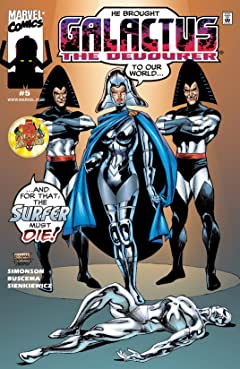 Galactus The Devourer (1999) #5 (of 6)