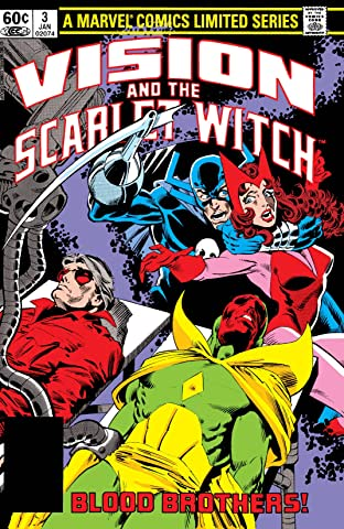 Vision and the Scarlet Witch (1982) No.3 (sur 4)