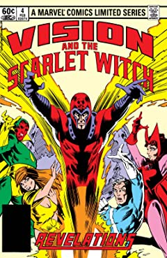 Vision and the Scarlet Witch (1982) No.4 (sur 4)