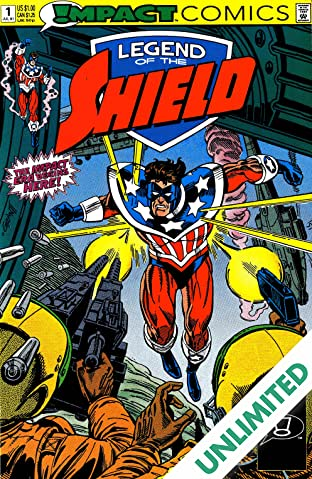 The Legend of The Shield (Impact Comics) #1