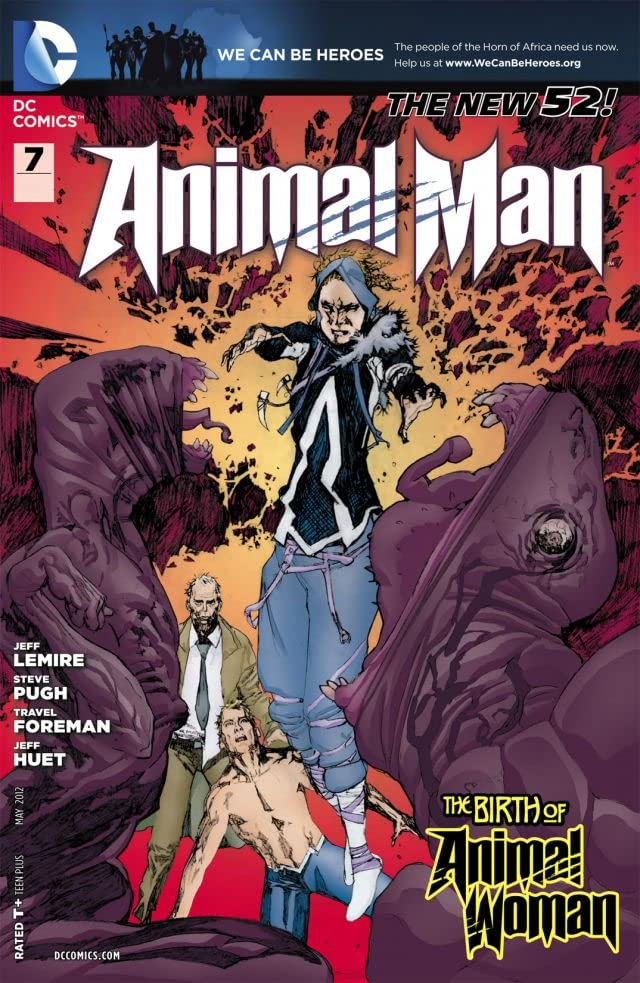 Animal Man (2011-2014) No.7