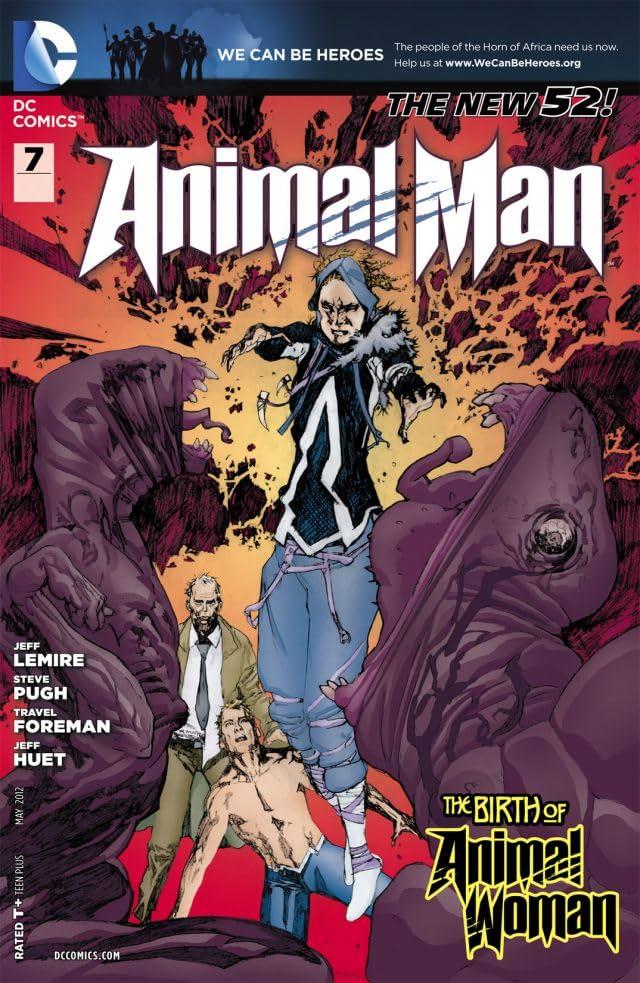 Animal Man (2011-2014) #7