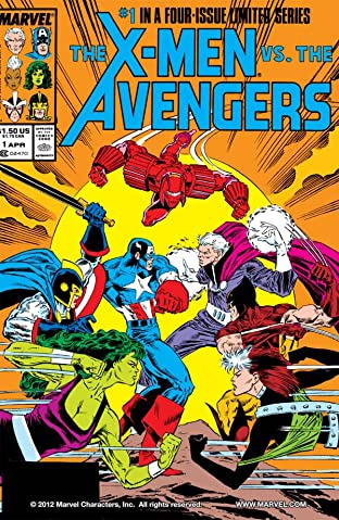 X-Men vs. Avengers No.1