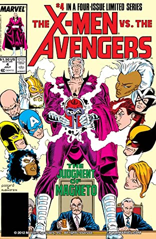 X-Men vs. Avengers No.4