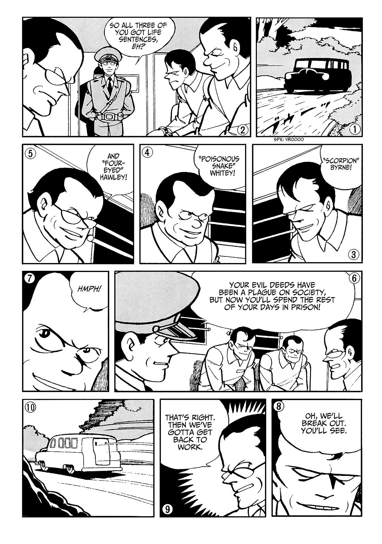 Batman: The Jiro Kuwata Batmanga #44