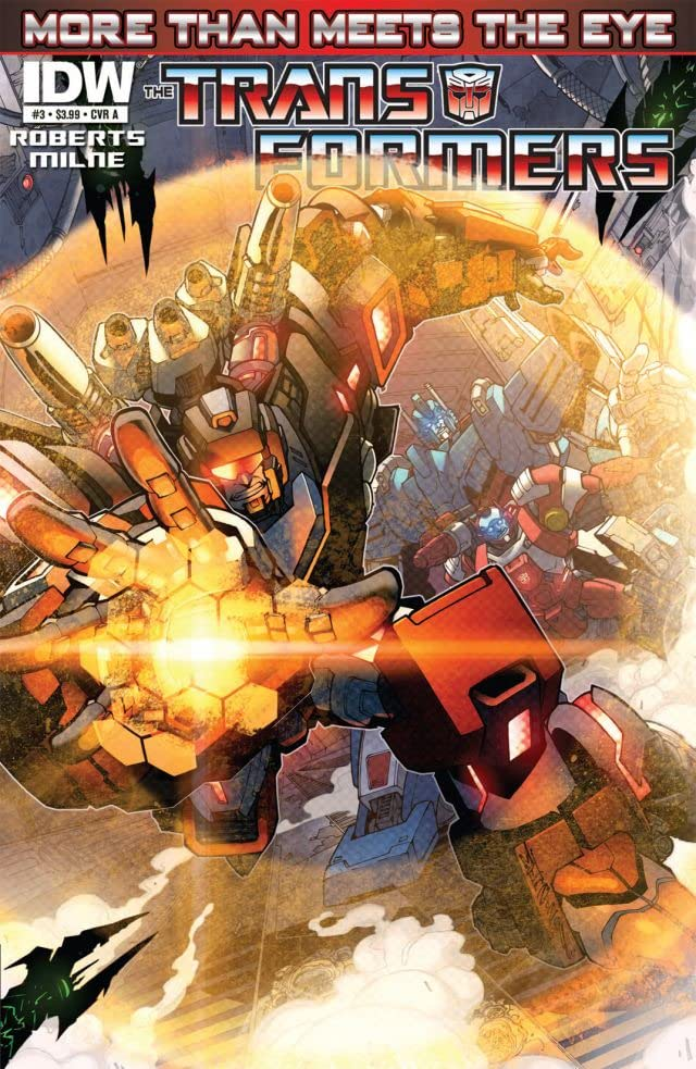 Transformers: More Than Meets the Eye (2011-) #3