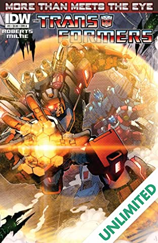 Transformers: More Than Meets the Eye (2011-2016) #3