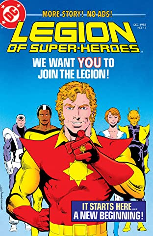 Legion of Super-Heroes (1984-1989) #17